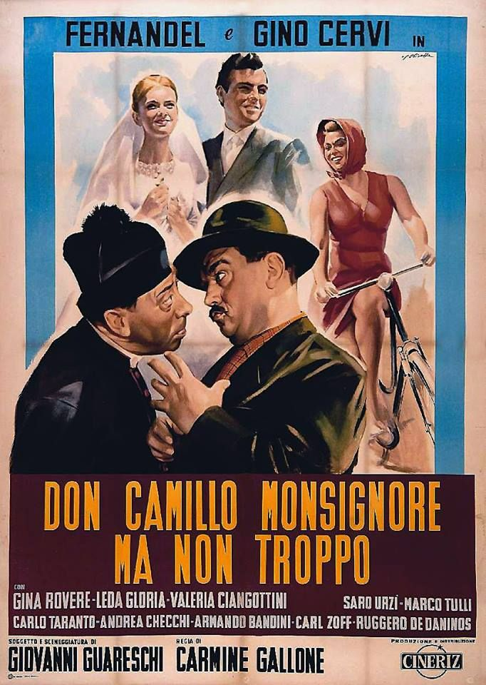 """Locandina del film """"Don Camillo monsignore ma non troppo"""""""