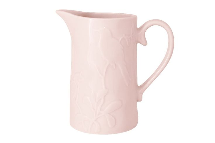 Кувшин «Птицы» (розовая)      Бренд: SantaFe (Испания);   Страна производства: Китай;   Материал: керамика;   Объем: 1,1 л;          #керамика #сервировка #стола #ceramics #table #setting #кувшин