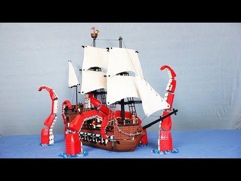 The Lego Kraken - YouTube