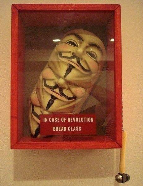 In case of revolution: Break Glass