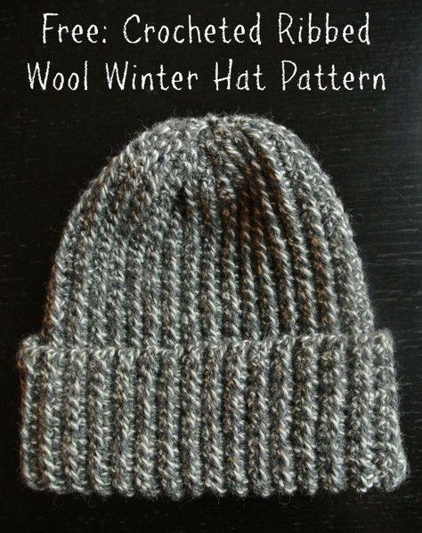 8 besten crochet Bilder auf Pinterest | Strickmuster, Hut häkeln und ...