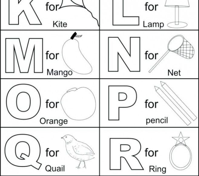 How I Successfuly Organized My Very Own Alphabet Letters Coloring