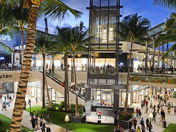 Ala moana center shopping mall in honolulu hi ala