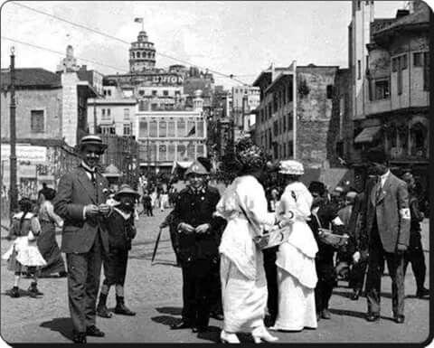 1915 Karaköy Istanbul