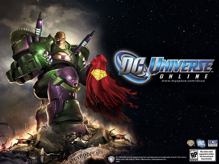 dc universe online opening cinematic 1080p video