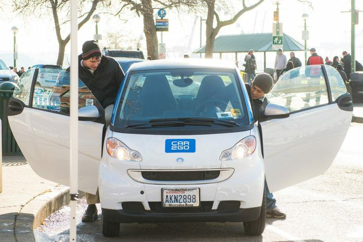 test drives in a car2go