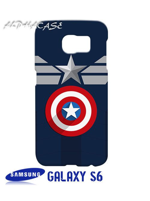 Clothes Captain America Superhero Samsung Galaxy S6 Case