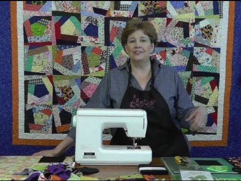 Jenny from the Missouri Star Quilt Company teaches how to make The Crazy Quilt. Great way to use up those scraps. LOVE Jenny's tutorials!