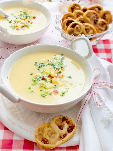 #Suppe #Vorspeise #Schweineohren #Rezept