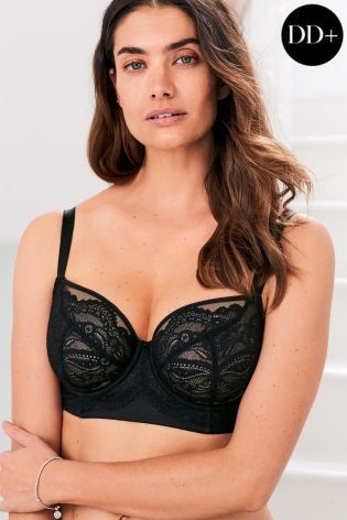 f35f23aaaf3 And our DD+ Lizzie non padded balcony bra will be your favourite addition.  Designed in lace and wired