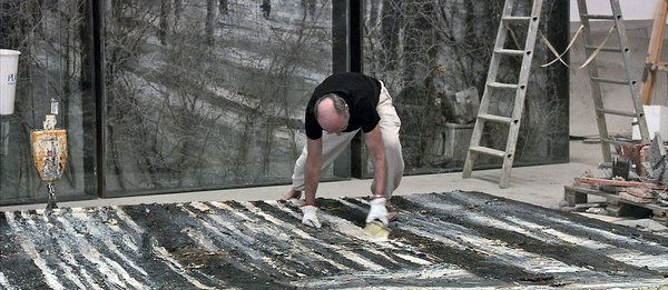 """Sophie Fiennes documentary """"over your cities grass will grow"""". A documentary about Anselm Kiefer."""
