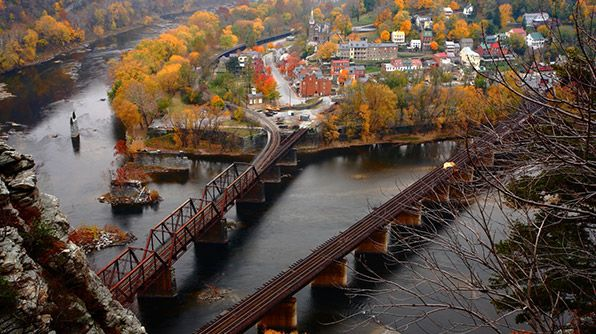 Harpers Ferry, West Virginia #TravelsBestVirginia Fall, Harpers Ferris, Ferris West, West Virginia, Road Trips, Fall Foliage, Foliage Roads, Travel, Roads Trips