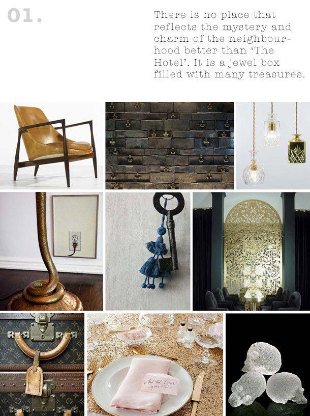 Concept Mood Boards Bohemian InteriorBohemian DesignConcept