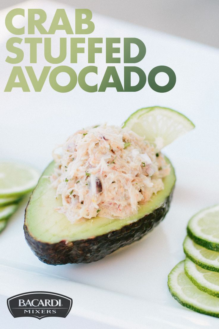 The king of the sea meets the king of the summer with Crab Stuffed Avocado! This easy appetizer is made with red onion, mayonnaise, cilantro, lime, and crab meat and served inside an avocado for a creamy, delicious seafood appetizer no guest can deny!