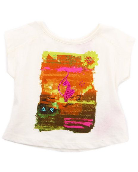20.00 The Sunset Graphic Top by Baby Phat