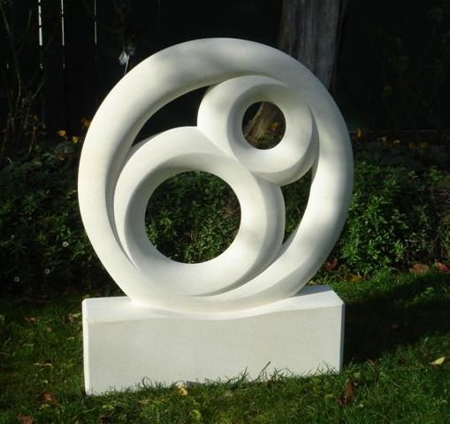 Cherish - This sculpture was made for a good friend's parents wedding anniversary.