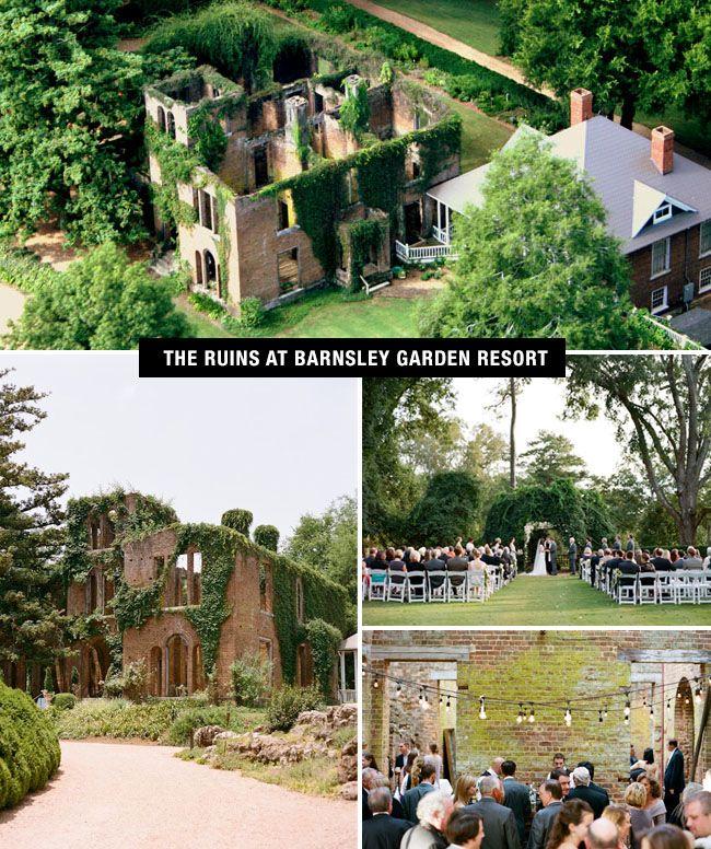 Barnsley Garden Resort Coolest Wedding Venues In The Us