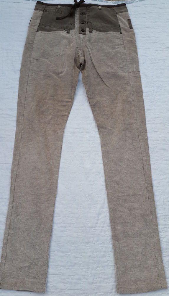Magnifique Pantalon Homme Original    MARITHE ET FRANCOIS GIRBAUD   Taille 38