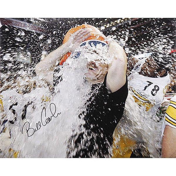 "Bill Cowher Pittsburgh Steelers Fanatics Authentic Autographed 16"" x 20"" Gatorade Photograph - $149.99"