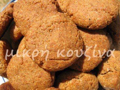 μικρή κουζίνα: Μπισκότα σικάλεως χωρίς ζάχαρη