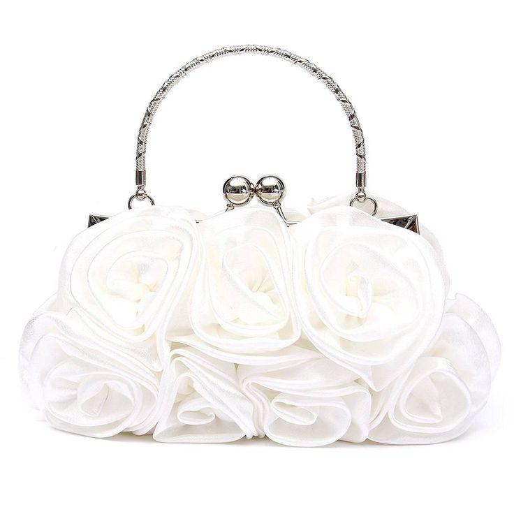 $9.93 (Buy here: https://alitems.com/g/1e8d114494ebda23ff8b16525dc3e8/?i=5&ulp=https%3A%2F%2Fwww.aliexpress.com%2Fitem%2FVSEN-Hot-Floral-Ladies-Clutch-Bag-Women-Evening-Party-Bag-Prom-Bridal-Diamante-Baguette-White%2F32754186171.html ) VSEN Hot Floral Ladies Clutch Bag Women Evening Party Bag Prom Bridal Diamante Baguette White for just $9.93