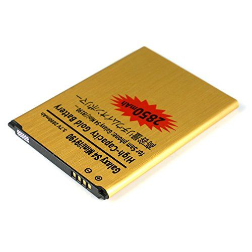 Buy Gold Extended Samsung Galaxy S 4 Mini GT-I9190 High Capacity Battery B500AE B500BE B500BU B500BZ For Samsung Galaxy S 4 Mini GT-I9190 / Samsung Galaxy S4 Mini GT-I9192 GT-I9195 2850 mAh NEW for 9.49 USD | Reusell