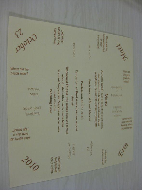 17+ best ideas about Wedding Menu Template on Pinterest ...