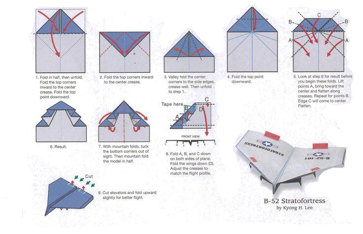 best paper plane instructions