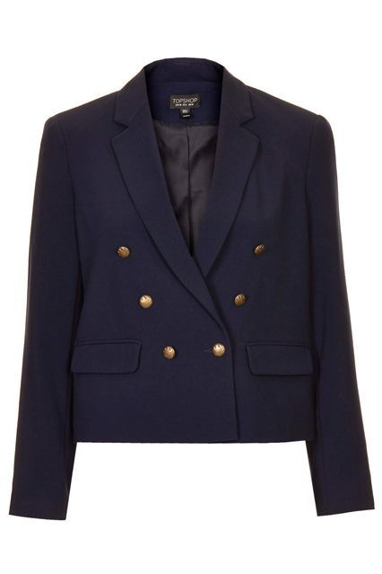 What To Buy From The HUGE Topshop Sale, ASAP #refinery29  http://www.refinery29.com/2015/04/86148/topshop-spring-sale-april-2015#slide-6  An almost double-breasted blazer to throw over your favorite jeans and T-shirt look.
