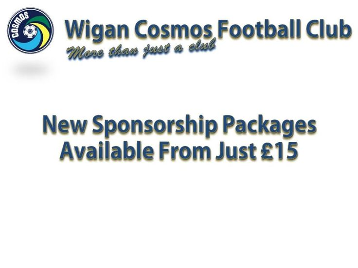 Packages from just £15.....  email: WiganCosmos@hotmail.com