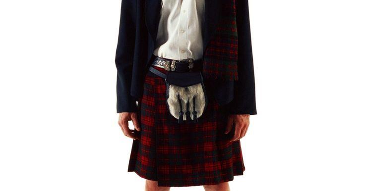Como costurar pregas para fazer um kilt. Não importa para que você deseja um kilt, seja para reconstruções escocesas, para dançar ou para uma fantasia de Dia das Bruxas, o kilt tem que ter muitas pregas. Fazer essas pregas requer muito mais tecido do que você imaginaria. Pode-se gastar até sete metros de tecido para a frente e as costas de um kilt de adulto. A parte mais importante de ...