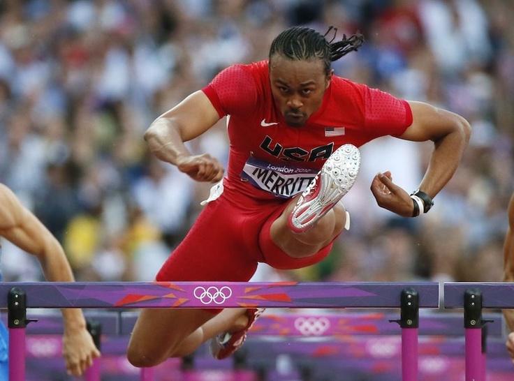 Aries Merrit,110m Hurdler