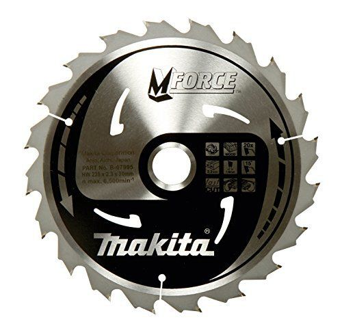 Makita B-32041 Mak-Force Lame de scie circulaire pour scies main et de table 190 mm: Cet article Makita B-32041 Mak-Force Lame de scie…