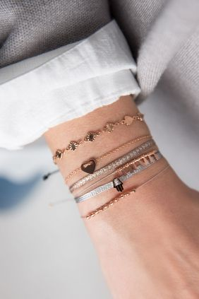 armband combination meaningful herz hamsa rose vergoldet schmuck online kaufen