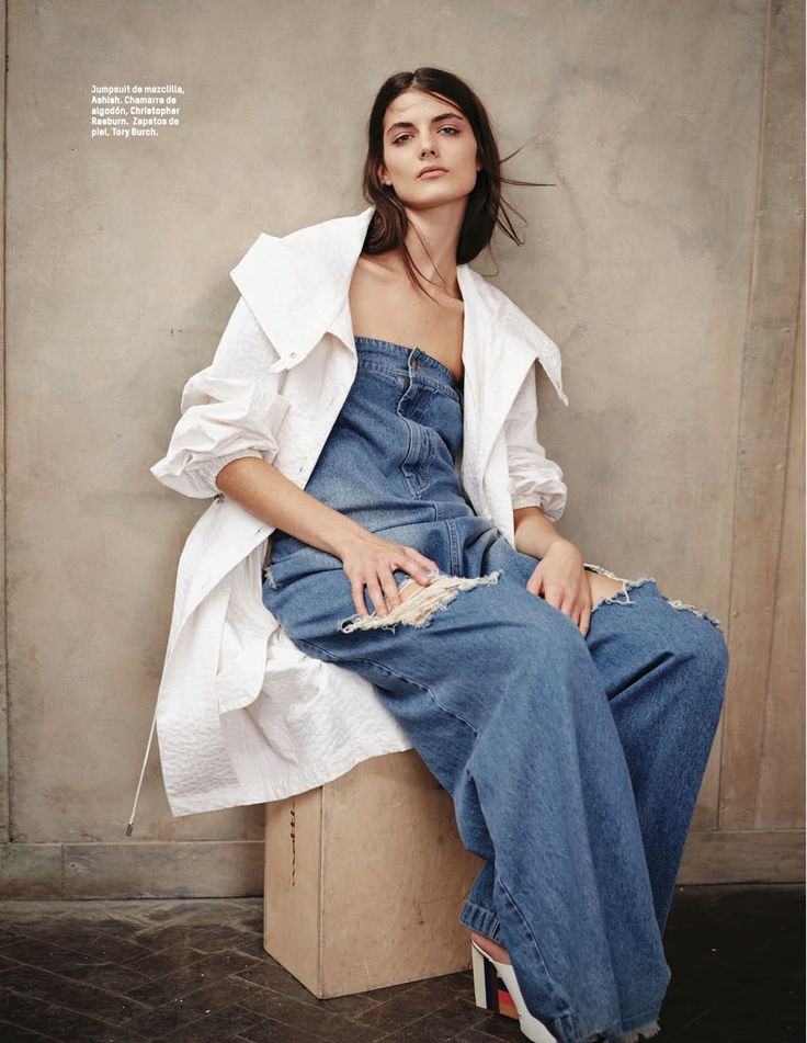visual optimism; fashion editorials, shows, campaigns & more!: loose blues: katryn kruger by rokas darulis for l'officiel mexico may 2015
