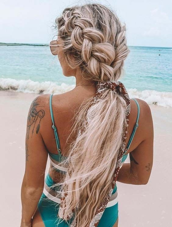 Most Amazing Braided Ponytail Hairstyles for 2018