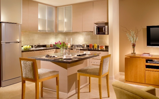 The #Kitchen in Oakwood Premier #Jakarta looks so inviting. Who's hungry for home-cooked breakfast?