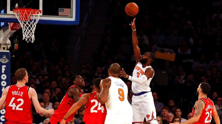 'Explicit' halftime talk leads Knicks to historic win against Toronto    New York players respond to coach Jeff Hornacek's displeasure by scoring 28 straight points in a decisive third quarter of a feel-good victory.   http://www.espn.com/blog/new-york-knicks/post/_/id/66906/explicit-halftime-talk-led-knicks-to-historic-win-against-toronto