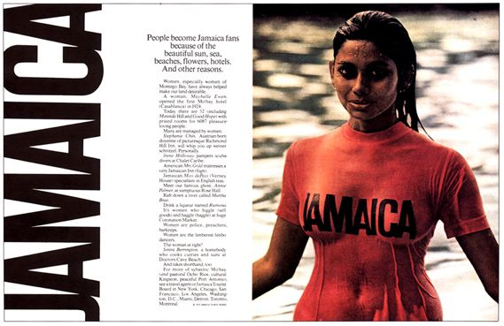 Bill Bernbach, Jamaica Tourism, 1964