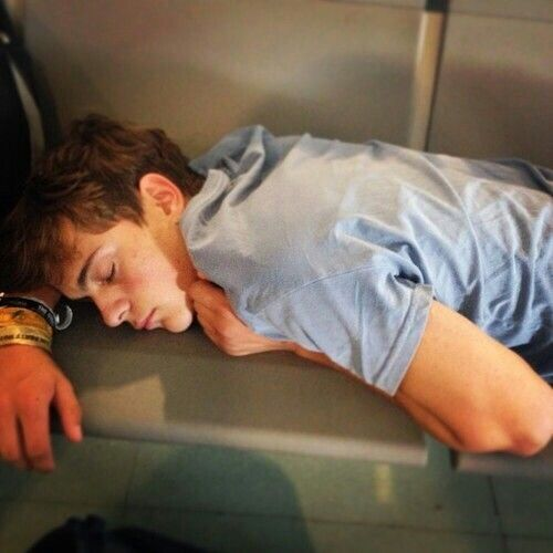 Martin Garrix Way more cute while sleeping