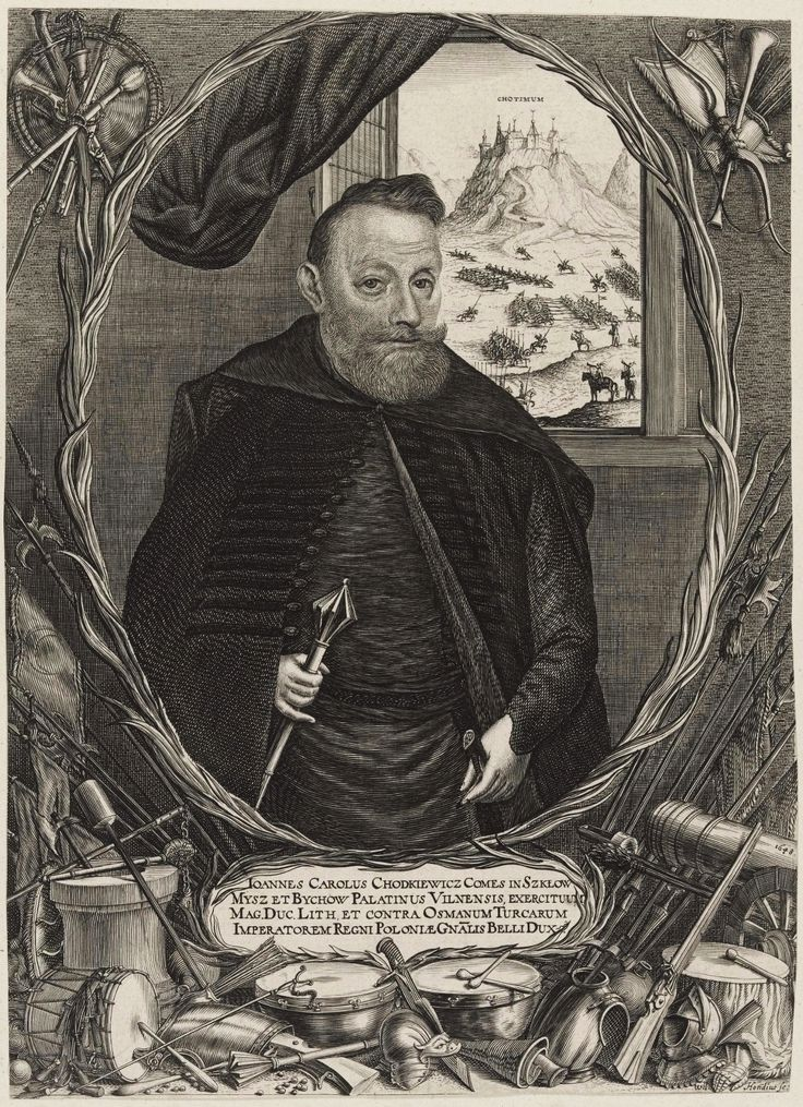 Hetman Jan Karol Chodkiewicz by Willem Hondius, 1648 (PD-art/old), Kunstsammlungen der Veste Coburg
