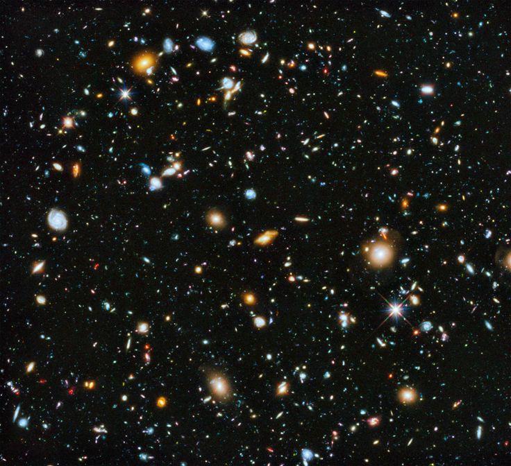 Ultra Deep Field by Hubble Space Telescope