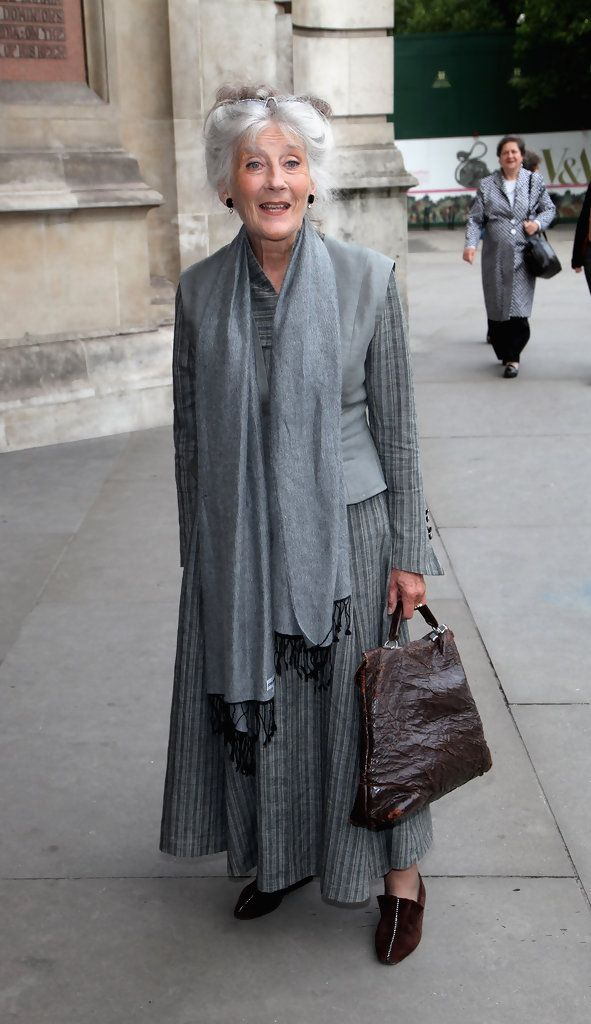 Phyllida Law attends the HaperCollins Summer Party at Victoria & Albert Museum on July 8, 2009 in London, England.