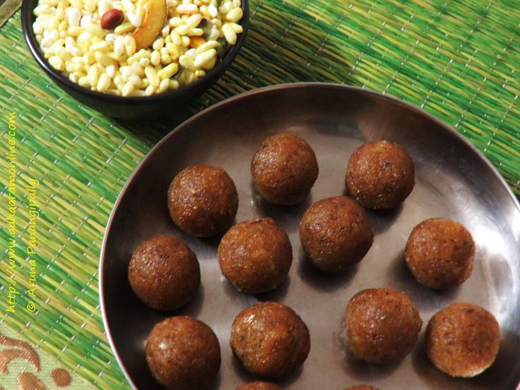Andhra Kobbari Louz   Bengali Narkel Naru   Easy Coconut Jaggery Laddu