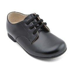 Boys School Shoes: Black Leather Boys Lace-up Classic Shoes http://www.startriteshoes.com/boys-shoes/school-shoes