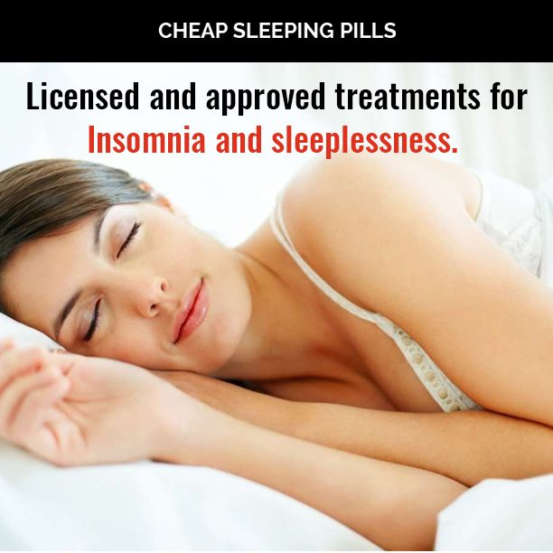 Licensed and approved treatments for Insomnia and sleeplessness.
