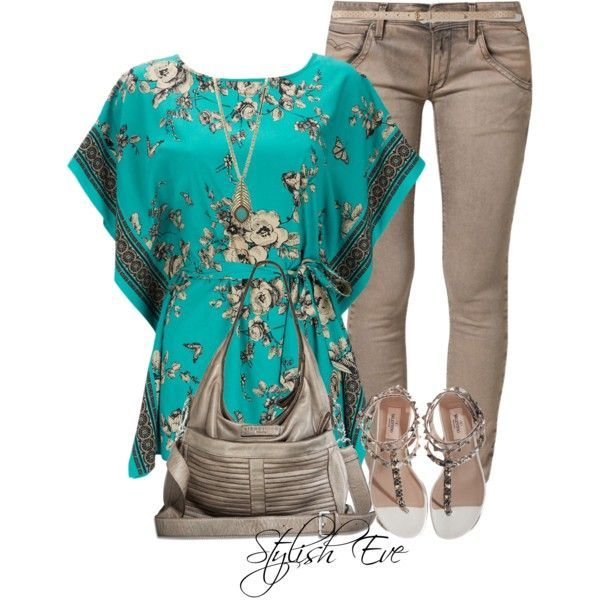 Summer 2013 Outfits: Summer Blouses Provide Stylish Looks ...