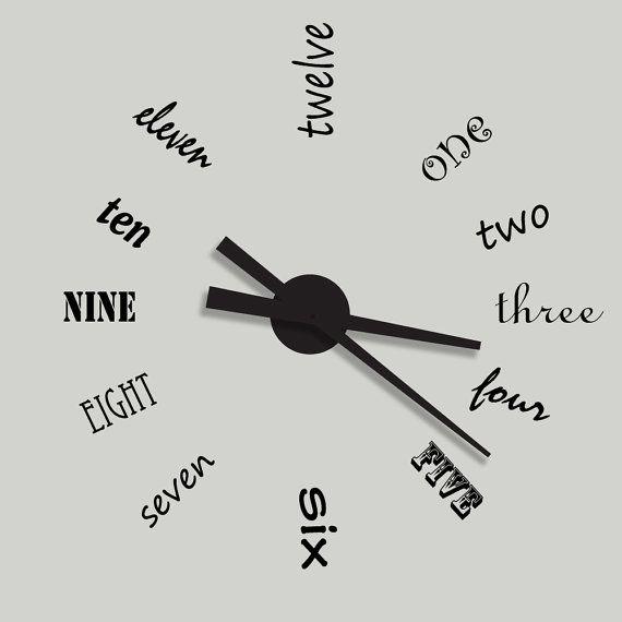 Cool clock idea!  http://www.hgtv.ca/sarah101/episodes.aspx?sectionid=432&categoryid=4976351129275603882&postid=195858