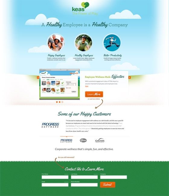 35 Beautiful Landing Page Design Examples to Drool Over [With Critiques] via @Plainview Vintage Anne Key