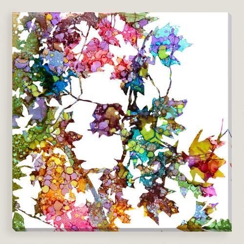 One of my favorite discoveries at WorldMarket.com: Prismatic Patch I by Carole Pena